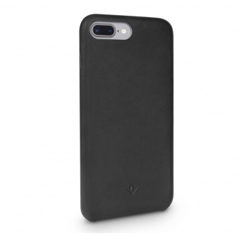 Capa em pele Twelve South Relaxed para iPhone 8 / 7 Plus - Preto
