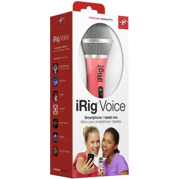 Microfone iRig Voice - Pink