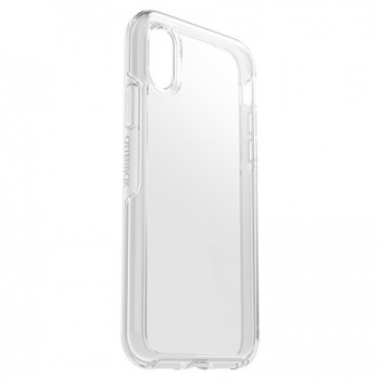 Capa para iPhone XS Otterbox Symmetry - Transparente