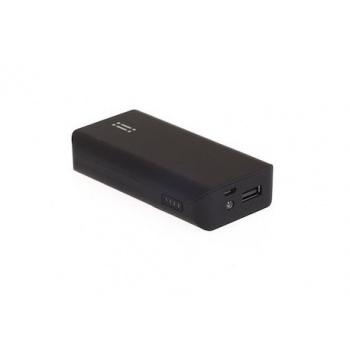 Power Bank Aiino com 5200 mAh - Preto