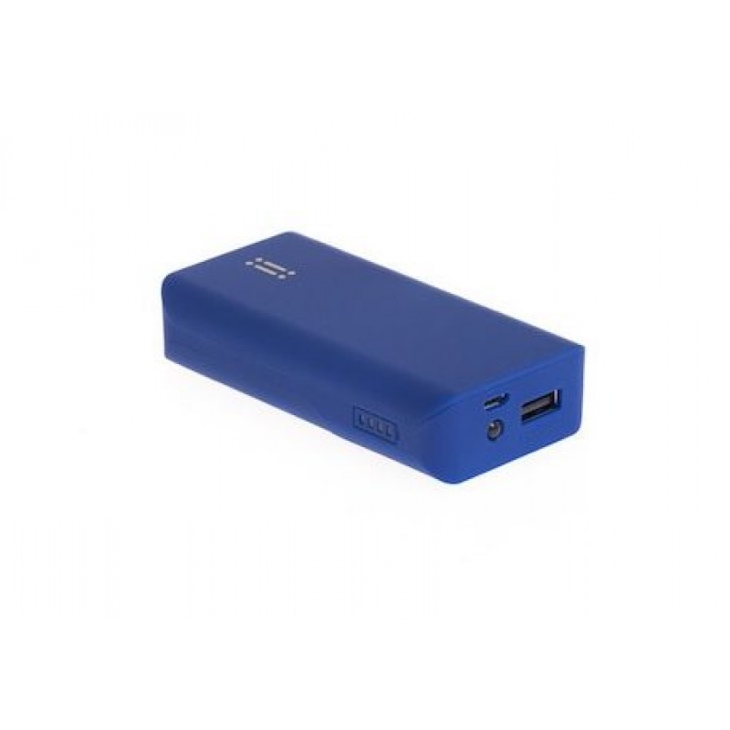 Power Bank Aiino com 5200 mAh - Azul