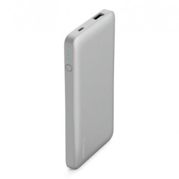 Power Bank 5000mAh - Prateado