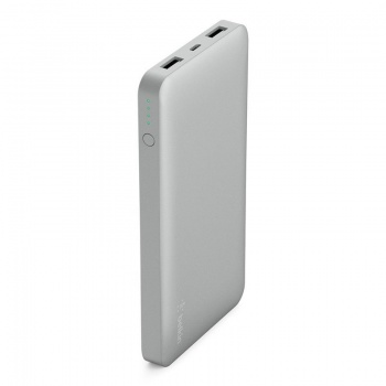 Power Bank 10000mAh - Prateado