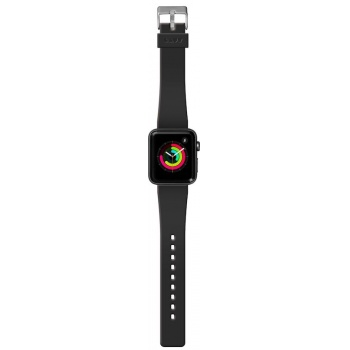 Bracelete para Apple Watch Laut Active, 44/42mm - Preto Onix