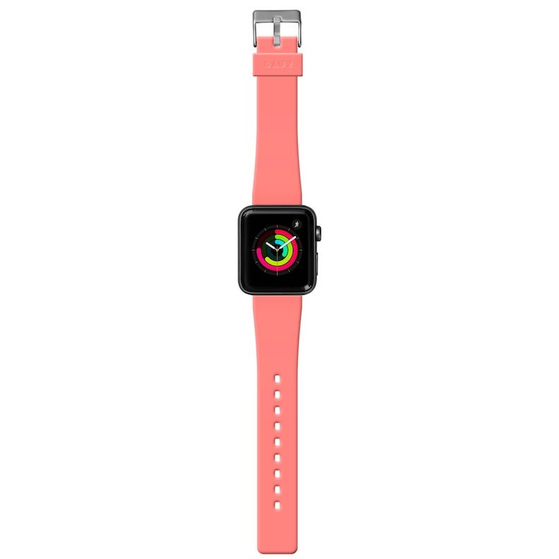 Bracelete para Apple Watch Laut Active, 44/42mm - Coral