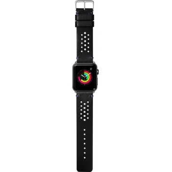 Bracelete para Apple Watch Laut Heritage, 44/42mm - Preto