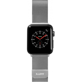 Bracelete para Apple Watch Laut Steel Loop, 44/42mm - Prateado