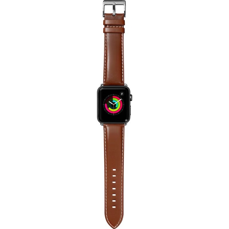 Bracelete para Apple Watch Laut Oxford, 44/42mm - Tobacco