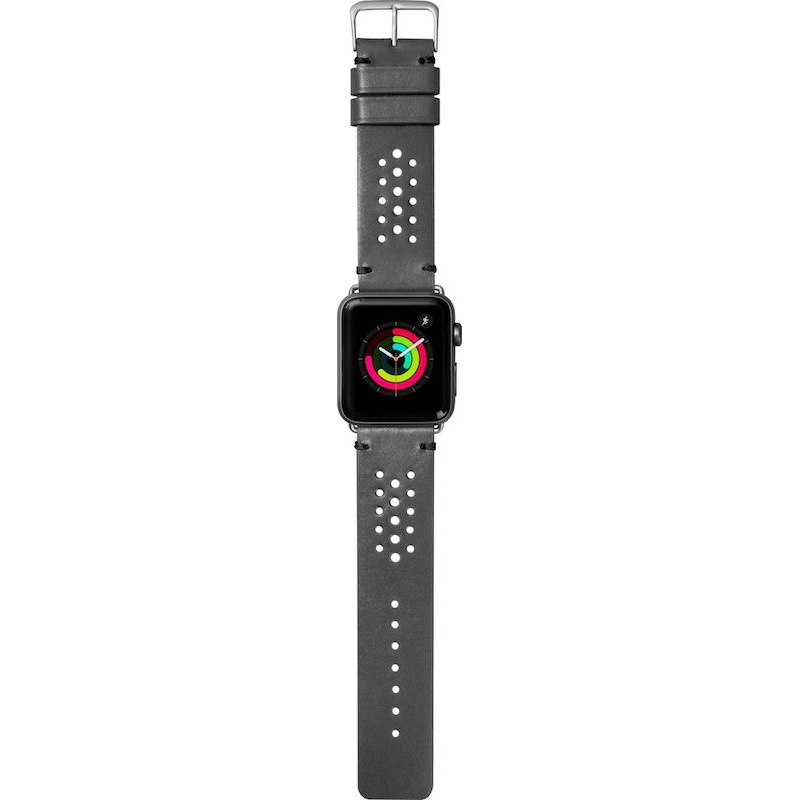 Bracelete para Apple Watch Laut Heritage, 40/38mm - Cinzento
