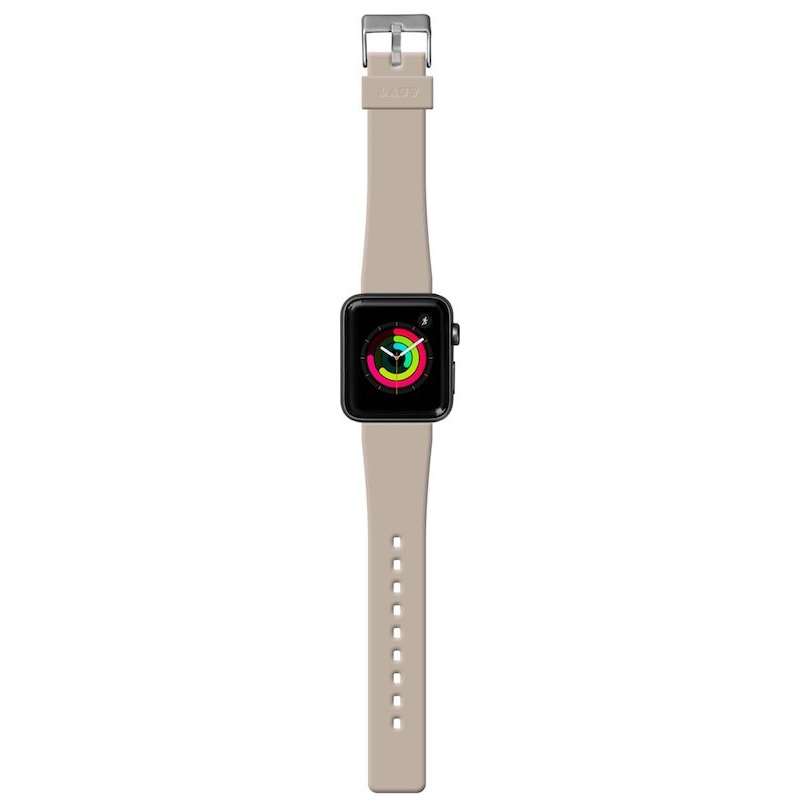 Bracelete para Apple Watch Laut Active, 40/38mm - Castanho toupeira