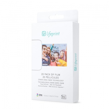 LifePrint 3x4,5 Film - 20 Pack