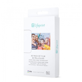 LifePrint 3x4,5 Film - 40 Pack