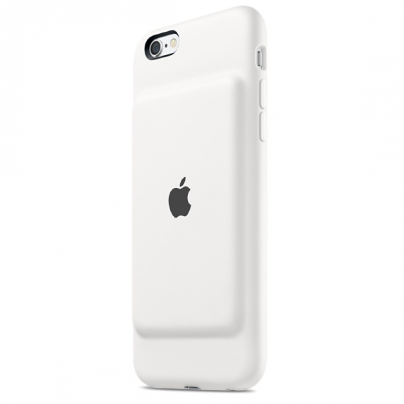 Capa com bateria para iPhone 6s Smart Battery Case - Branco
