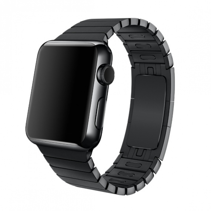 Bracelete Apple Watch metal elos (38 mm) - Preta