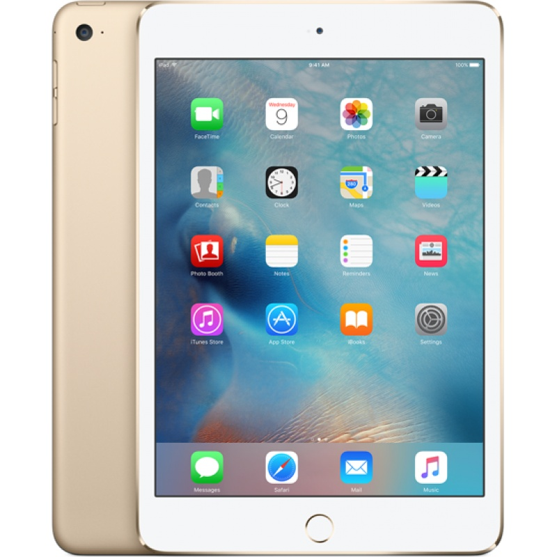 iPad mini 4 Wi-Fi 128 GB - Dourado
