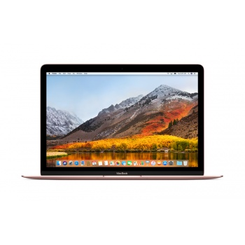"MacBook 12"" 1.2GHz dual-core Intel Core m3, 256GB - Rosa Dourado"