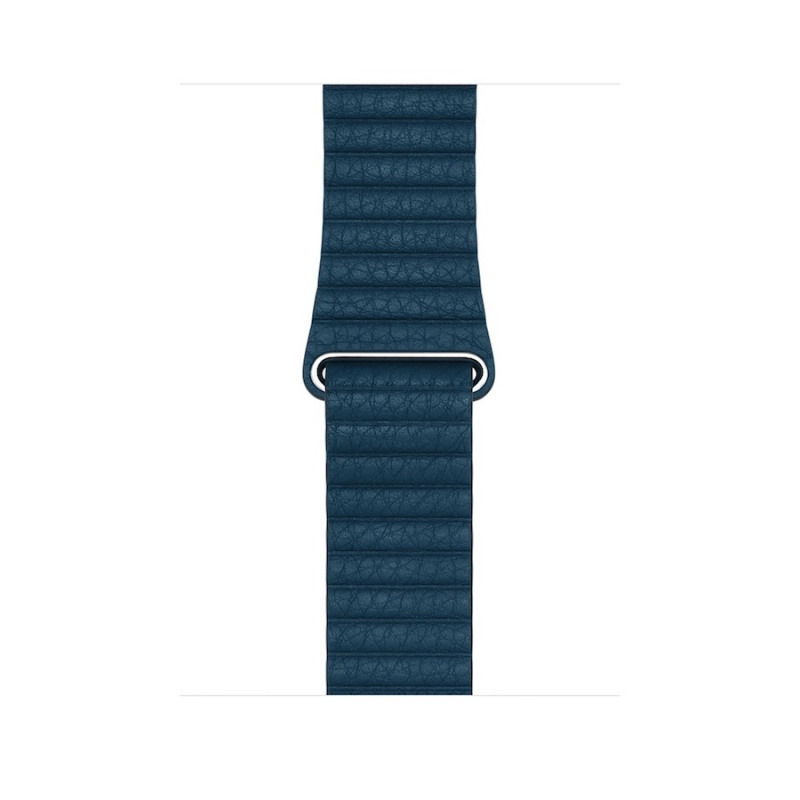 Bracelete Apple Watch 42mm Leather Loop M - Azul-cosmos