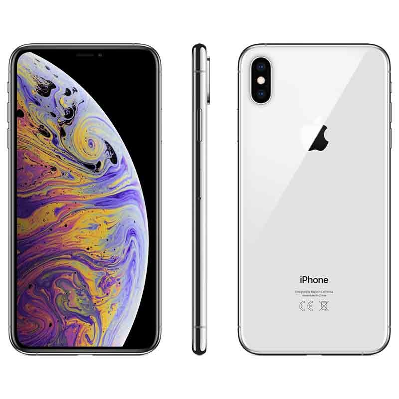 iPhone XS Max 256GB - Prateado