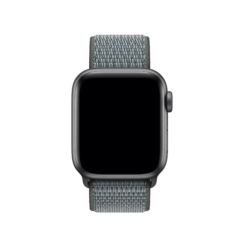 Bracelete desportiva Loop para Apple Watch (40/38 mm) - Cinzento-tempestade