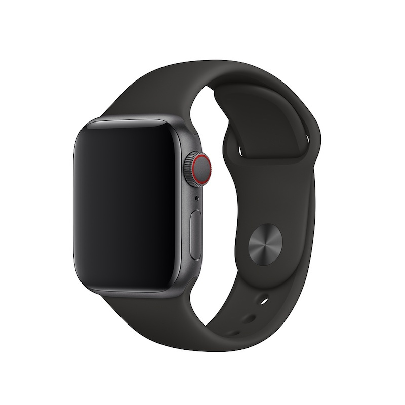 Bracelete desportiva para Apple Watch (40/38 mm) S/M & M/L - Preto