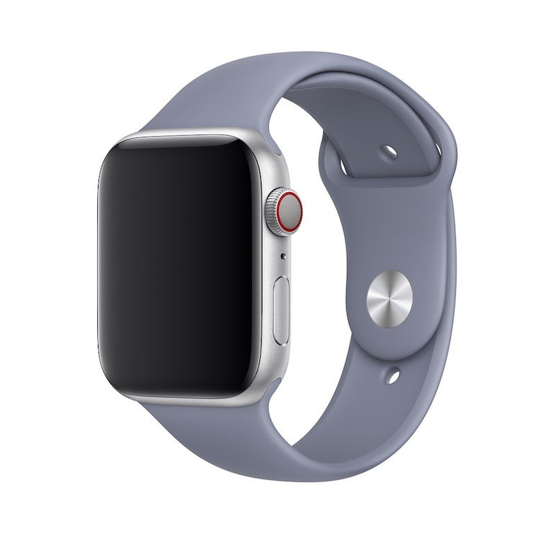 Bracelete desportiva para Apple Watch (44/42 mm) S/M & M/L - Cinzento-lilás