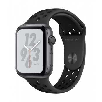 Apple Watch 4 Nike+ GPS, 44 mm - Cinzento sideral bracelete desportiva Nike