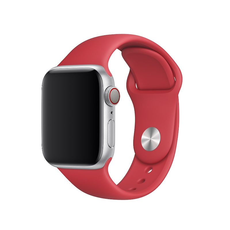 Bracelete desportiva para Apple Watch (40/38 mm) S/M & M/L - (PRODUCT) RED