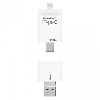 PhotoFast - iType-C & Ligtning to USB 3.0 (128 GB)