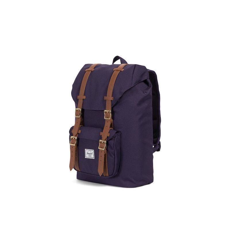 Mochila Herschel Little America Mid Vol. (17L) - Purple Velvet