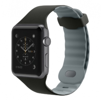 Pulseira para Apple Watch 42mm Preto/Cinza